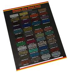 Custom Paint Color Custom Shop Metal Flake Chip Color Chart Auto Car Paint Gun Custom