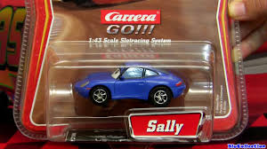 cars sally sally carrera go cars 2 slot car disney pixar toy review by