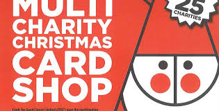 cards for good causes multi charity christmas card pop up shop