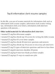 resume writing group coupon information clerk sample resume employee benefits attorney sample lva1 app6891 thumbnail 4jpg cb 1431069177 top8informationclerkresumesamples 150508070545 lva1 app6891 thumbnail 4 top 8 information clerk resume samples