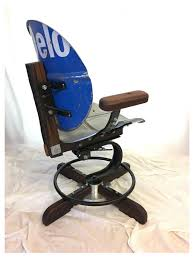 man cave chair caltex upcycled oddities