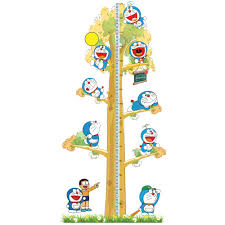doraemon height to stick lovely wall stick large indoor children doraemon height to stick lovely wall stick large indoor children wall stickers personality wall stick 3pcs lot