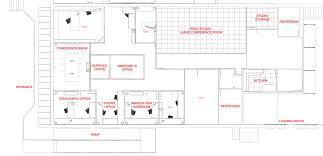 plan view production office space u2014 van matre productions inc