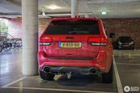 red jeep 2017 jeep grand cherokee srt 8 2014 red vapor edition 30 september