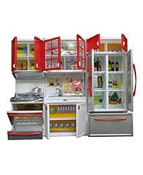 Modern Kitchen Price In India - buy toyshine 3 compartments modern kitchen toy set with music and