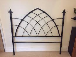 Gothic Style Bed Frame by Double Iron Bed Frame Rare Gothic Style Excellent Condition 70