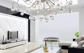 Living Room Ceiling Light Fixtures by Ceiling Modern Crystal Chandelier With 11 Lights Chrom Flush