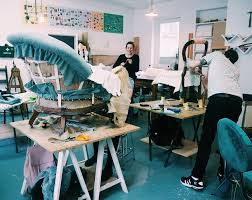 A Class Upholstery Celebrating London Craft Week 2017 Upholstery With Shoreditch