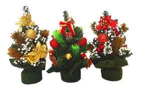 mini christmas tree decoration 20cm high weighs 65 grams pvc green