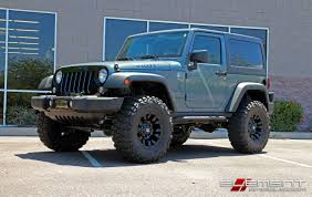17 inch fuel off road vapor matte black on 2015 jeep wrangler w