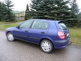 nissan blue car nissan automobiliai ir mikroautobusai autogidas