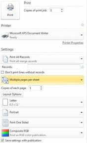 create a mail or e mail merge in publisher publisher