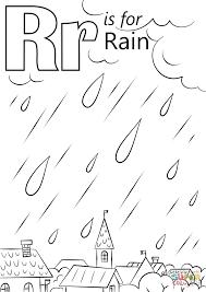 rain coloring page queengambl com