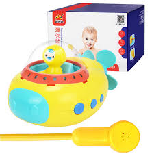 Bathtub Submarine Toy Lovely Electric Bath Tub Toy Water Sprinkler System Children Kids