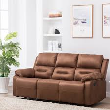 perfect homes by flipkart wayne 3 seater fabric recliner price in