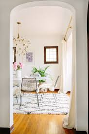 Rug Dining Room Best 20 Bright Dining Rooms Ideas On Pinterest White Dining