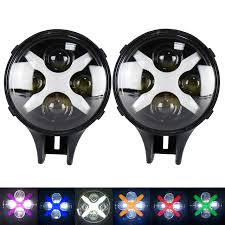 round led driving lights 2pcs 60w led work light 6inch round led driving l with white