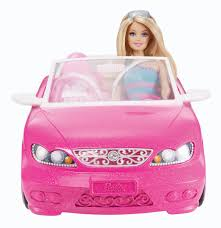 barbie toy cars barbie glam convertible5