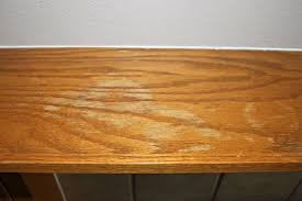 How To Remove Stains From Wood Table How To Fix Water Marks On Wood Table Designsbyflo Com