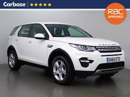 land rover discovery sport 2017 white used land rover discovery sport hse white cars for sale motors co uk