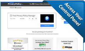 pirvacy policy free privacy policy generator template