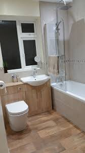 the back to wall toilet unit and oak vanity unit both come from