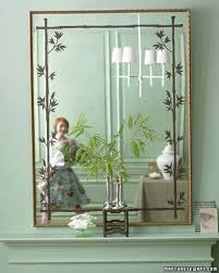 Mirror Decoration At Home Frame And Mirror Projects Martha Stewart