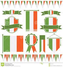 Irish Flag Vs Italian Flag Irish Flags Stock Vector Illustration Of Ornament Ornate 28771241
