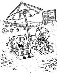 bob esponja y arenita en la playa png 800 1015 dibujos para