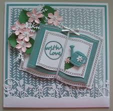 Book Birthday Card G175 Hand Made Birthday Card Using Spellbinders Open Book Dies And