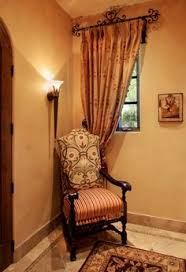 Tuscan Style Curtains Shades Of Golden Are Tuscan Decorating Colors