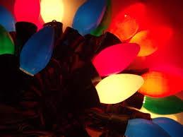 vintage christmas lights 60s 70s vintage christmas lights lot big light bulbs w original cords