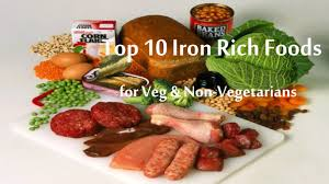 top 10 iron rich foods list fruits u0026 vegetables rich in iron
