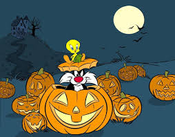cute happy halloween images tweety bird halloween tweety wallpapers and tweety backgrounds 1