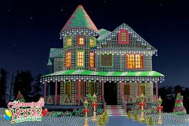 house christmas lights the christmas lights house decorator display of the day the
