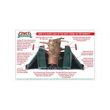 cinco express 12ft real tree stand