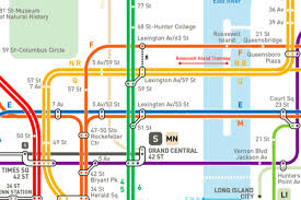 map of nyc a reimagined nyc subway map now with a more accurate