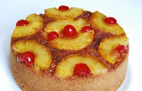 how to make eggless pineapple upside down cake