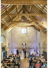 the beautiful tythe barn at priston mill near bath set up and