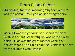 mythology family tree ppt