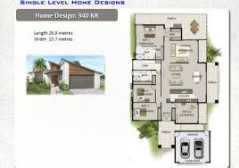 1 level house plans 1 level house plans new home designs australian house plans one