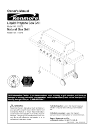kenmore gas grill 141 173373 user guide manualsonline com