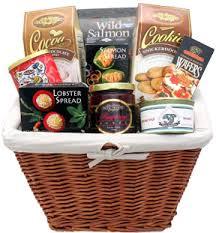 salmon gift basket smoked salmon gift basket pacific northwest send gift baskets