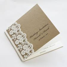 wedding invitations lace lace wedding invitation cards