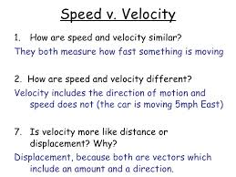 Speed Velocity And Acceleration Worksheet With Answers Speed Velocity Acceleration