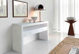 White Hallway Table Popular White Hallway Console Table With Modern New Style Pac