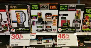 black friday early access target target up to 46 off ninja master prep professional nutri