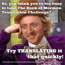 Meme Translation - rememeber to read i meme it book of mormon translation challenge