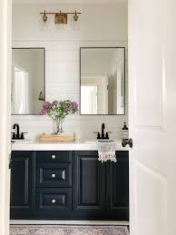 how to paint existing bathroom cabinets bathroom on a budget reveal a thoughtful place
