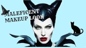 halloween maleficent makeup look pallette collab youtube